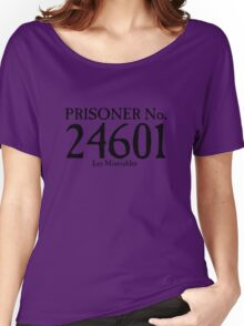 Les Miserables - Prisoner No. 24601 Women's Relaxed Fit T-Shirt