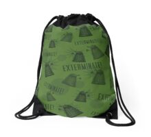 Daleks - Green Drawstring Bag