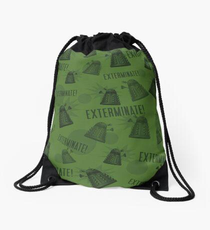 Daleks - Green Drawstring Bag