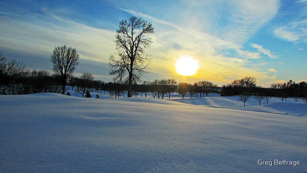 Prairie Wonderland by Greg Belfrage