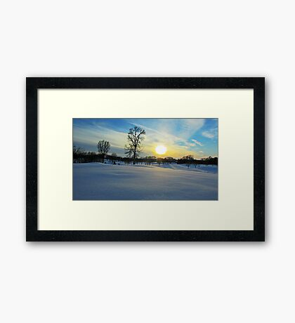 Prairie Wonderland Framed Print