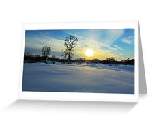 Prairie Wonderland Greeting Card