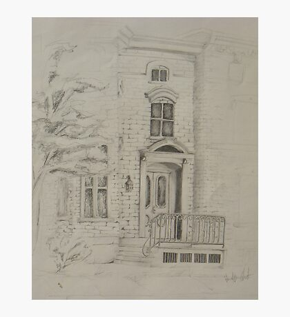 Doorway of a Town House  Photographic Print