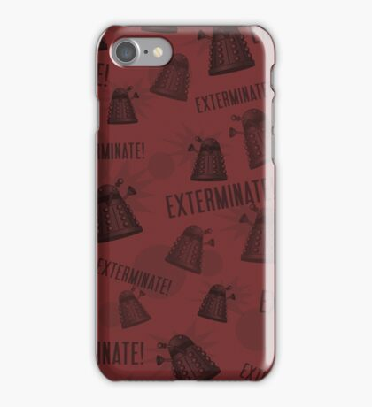 Daleks - Red iPhone Case/Skin