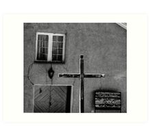 Old Truchas Mission, New Mexico Art Print