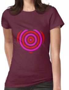 Heart; Herz Womens Fitted T-Shirt