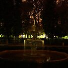 Fountain in Madrit by Pawel J