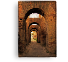 Arches of Palatine Hill, Rome Canvas Print