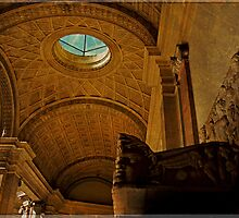 Hall in Vatican Museum by LaRoach