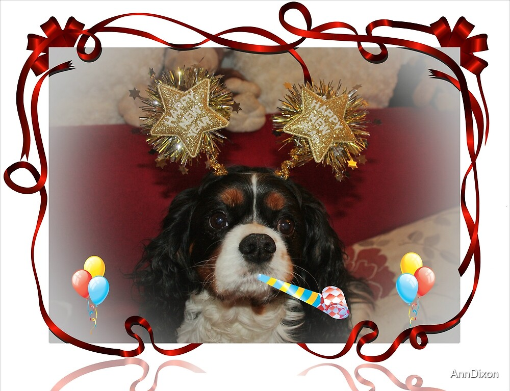 Happy New Year 2013 from Charlie Girl by AnnDixon