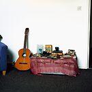 Stephanie's Guitar by Manuel Gonçalves