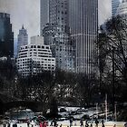 Skating In Gotham by Chris Lord