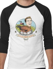 Cage-Free Eggs Men's Baseball ¾ T-Shirt