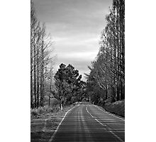 Desolate highway Photographic Print