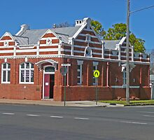 Old Bank Building, Allora, Qld.  by Margaret  Hyde