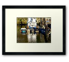 Awesome is the shades of colors found Framed Print