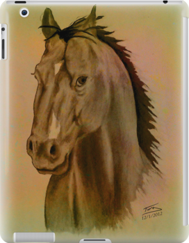 Horse Head by Troy Brown