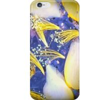 Blue And Yellow Summer iPhone Case/Skin