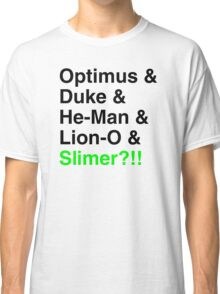 80s Helvetica Spectacular!!! Classic T-Shirt