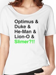 80s Helvetica Spectacular!!! Women's Relaxed Fit T-Shirt
