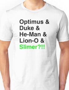 80s Helvetica Spectacular!!! Unisex T-Shirt