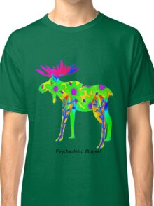 Psychedelic Moose Classic T-Shirt