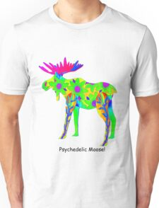 Psychedelic Moose Unisex T-Shirt