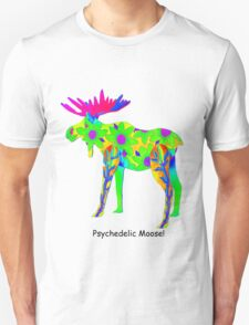 Psychedelic Moose T-Shirt