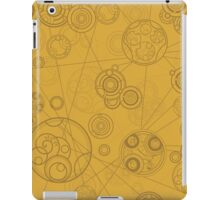 Gallifrey Pattern - Yellow iPad Case/Skin