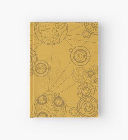 Gallifrey Pattern - Yellow Hardcover Journal