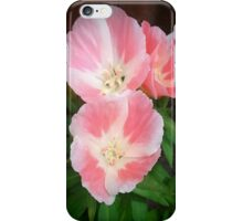 Pink And White Summer Flowers iPhone Case/Skin