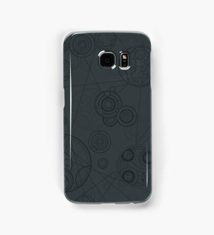 Gallifrey Pattern - Grey Samsung Galaxy Case/Skin