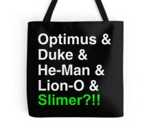 80s Helvetica Spectacular!!! (version B) Tote Bag
