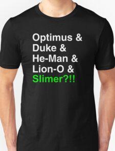 80s Helvetica Spectacular!!! (version B) T-Shirt