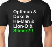 80s Helvetica Spectacular!!! (version B) Unisex T-Shirt