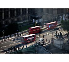 London Buses Photographic Print