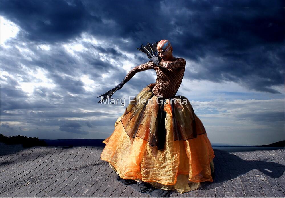 Exotic Street Dancer by Mary Ellen Garcia