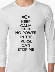 Firefly No Power in the Verse can stop Me Long Sleeve T-Shirt