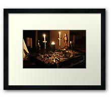 Altar Framed Print