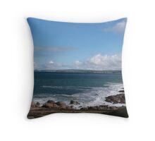 From Green Bay around to the Bluff, Victor Harbour Sth.Aust. Throw Pillow
