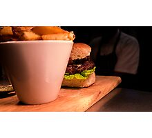 Burger Photographic Print