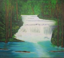 Forest Falls by Melissa Pinner