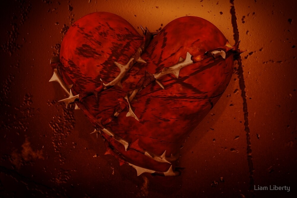 Love and Hate - Heart and Thorns by Liam Liberty