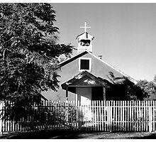 Lyden Church, New Mexico Photographic Print