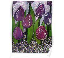 Tulip Kisses Poster
