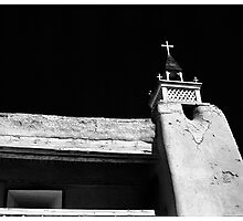 Tower of San Jose de Gracia de Las Trampas Church Photographic Print