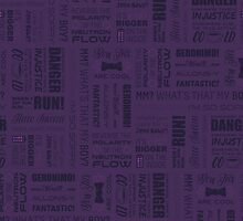 Dr Who Quotes - Purple by cinderkella
