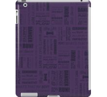 Doctor Quotes - Purple iPad Case/Skin