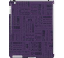 Doctor Quotes - Purple iPad Case/Skin
