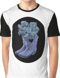 ☆ ★ ☆EVEN COWGIRLS GET THE BLUES -SOMETIMES-(AND COWBOYS 2) TEE SHIRT ☆ ★ ☆¸ Graphic T-Shirt